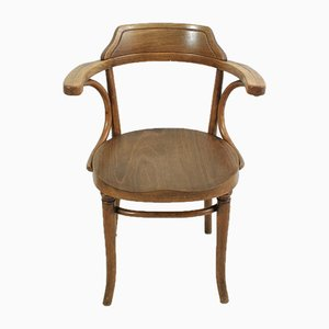 Antique Beech and Plywood Chair from Thonet, 1920