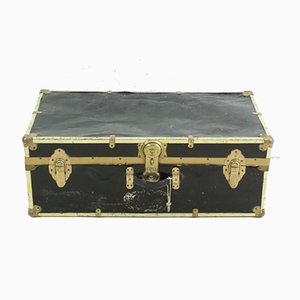 Antique Metal Suitcase, 1920s