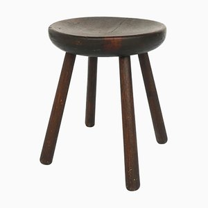 Vintage Hammer Stool by Charlotte Perriand for Les Arcs Resort, 1960s