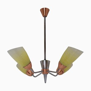 Mid-Century Chandelier from Drukov, 1960s
