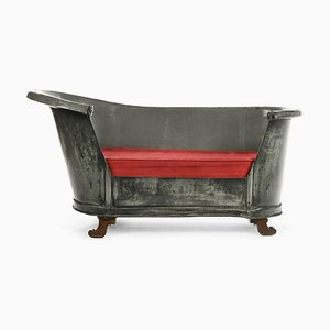 19th Century Bath Converted into Bench