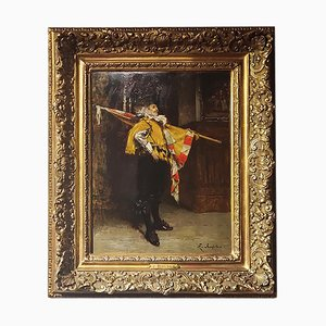 Ferdinand Roybet, Öl auf Leinwand, 19. Jahrhundert