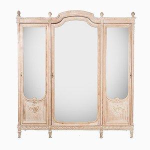 Louis XVI Style Mirror Armoire