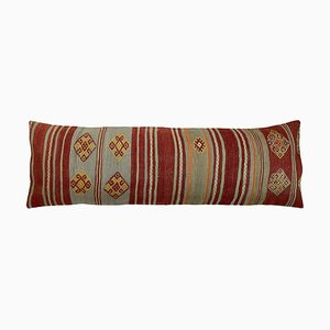 Fodera per cuscino Kilim lunga fatta a mano