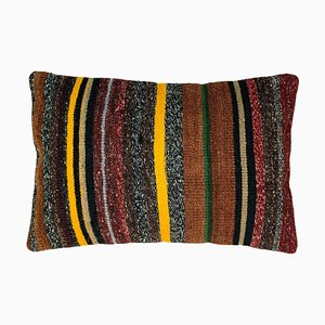 Long Handmade Kilim Pillow Cover