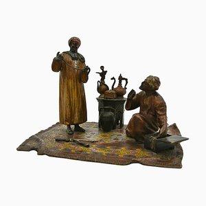 Jewellery Merchant and His Client von Anton Chotka