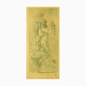 Armand Rassenfosse, Dance, 1987, Originale Lithographie