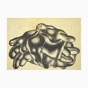 (nachher) Fernand Léger, IMAGE, The Gloves, 20th Century, Originale Lithographie