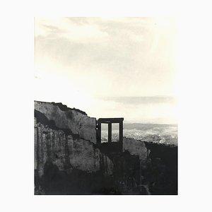 Demolition, Mitte 20. Jahrhundert, Original Photo-Lithograph