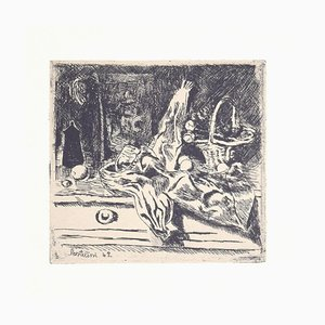 Luigi Bartolini, Still Life, 1942, Vintage Photo-Lithograph