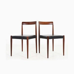 Rosewood Dining Chair from Lübke, 1960s