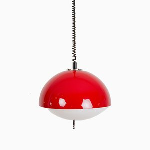 Grande Lampe à Suspension par Harvey Guzzini pour Meblo, 1973