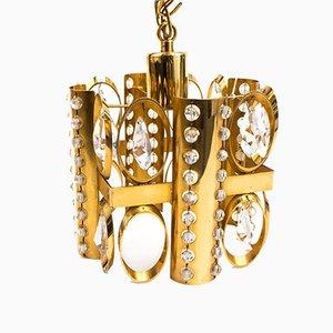 Hollywood Regency Ceiling Lamp, 1970s
