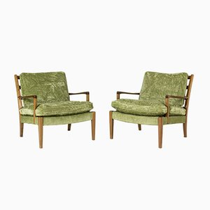 Löven Armchairs by Arne Norell for Norell Möbler AB, 1960s, Set of 2