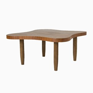 Mid-Century Swedish Teak Coffee Table by Sten Blomberg for Meeths, 1942