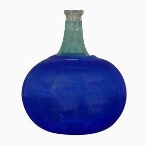 Bottiglia in vetro soffiato di Bertil Vallien per Kosta Boda, Svezia, anni '60