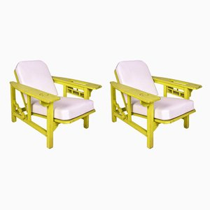 French Armchairs by Pierre Dariel, 1920s, Set of 2