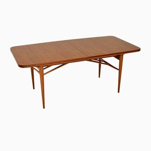 Vintage Walnut Hamilton Dining Table by Archie Shine for Robert Heritage, 1960s