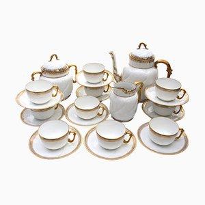 Antique Porcelain Tea Set from Emile Bourgeois