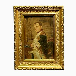 French School Napoleon I in His Work Cabinet, 19th Century, Oil on Canvas