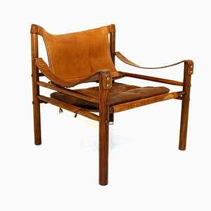 Swedish Rosewood Sirocco Lounge Chair by Arne Norell for Arne Norell AB, 1960s