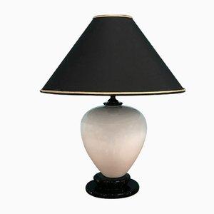 Lámpara de mesa de Manifattura artistica Le Porcellane, años 70