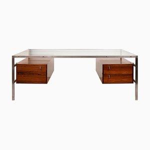 Mid-Century Rosewood BO 555 Desk by Preben Fabricius for Jorgen Kastholm, 1960s
