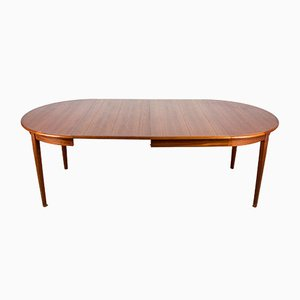 Danish Teak Extendable Dining Table from Sigh & Søns Møbelfabrik, 1960s