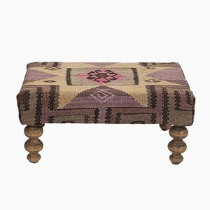 Turkish Kilim Footstool