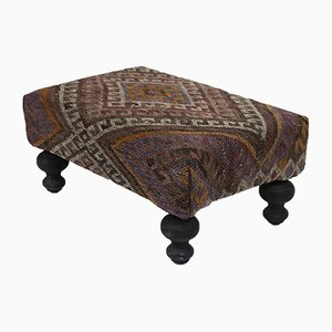 Turkish Kilim Footstool