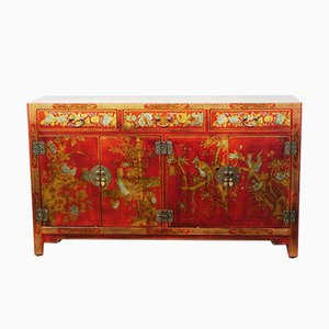 Chinese Finely Decorated Sideboard, 1990s