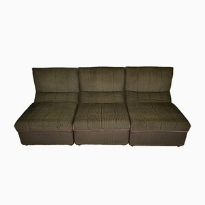 Vintage Italian Baia Modular Sofa by Antonio Citterio & Nava for B&B Italia / C&B Italia, 1970s, Set of 6