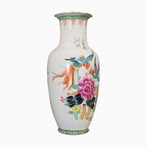 Vase à Fleur Vintage Oriental en Céramique, 1940s