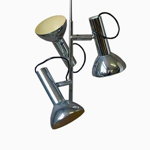 Modernist Suspension Lamp, 1960s