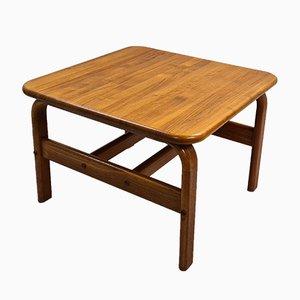Danish Solid Teak Coffee Table, 1970s