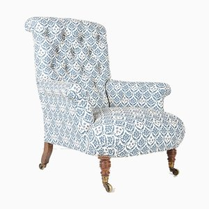 19th Century Easy Sublime Armchair from Howard and Sons, 1860s, 1860s