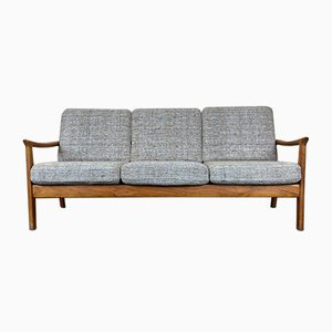 Danish Teak Sofa Bed from Juul Kristensen, 1960s