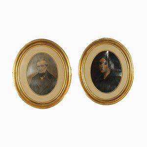 Oval Frames, Set of 2