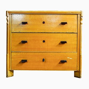 Chest of Drawers in Yellow Wood, Early 1990s