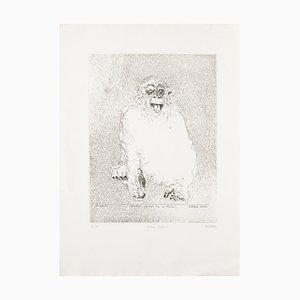 Sergio Barletta, Homo Ludens, Original Radierung von Sergio Barletta, 1991