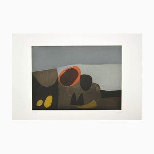 Afro Basaldella , Vulcani , Original Etching by Afro Balsaldella , 1974