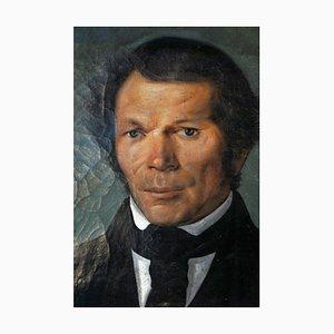 Mid-Century Portrait, Oil on Canvas