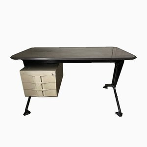 Vintage Office Desk by Studio BBPR for Olivetti, 1963