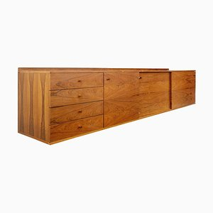 Blonde Rosewood Floating Sideboard