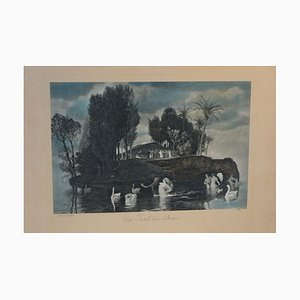 Arnold Böcklin, The Island of Life, Work on Paper