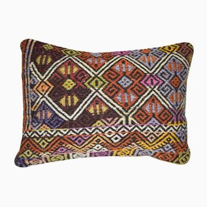 Turkish Wool Kilim Pillow Cover