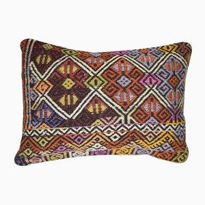 Turkish Wool Kilim Pillow Cover