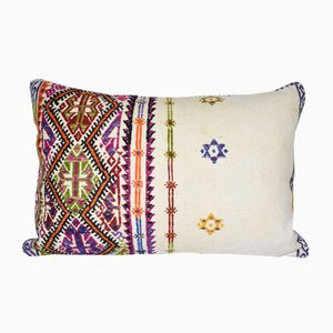 Handmade Colorful Turkish Kilim Pillowcase