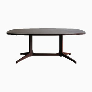 Italian Model TL22 Rosewood Dining Table by Franco Albini & Franca Helg for Poggi, 1950s