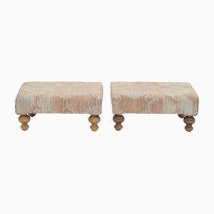 Repose-Pieds Kilim Rembourré de Vintage Pillow Store Contemporary